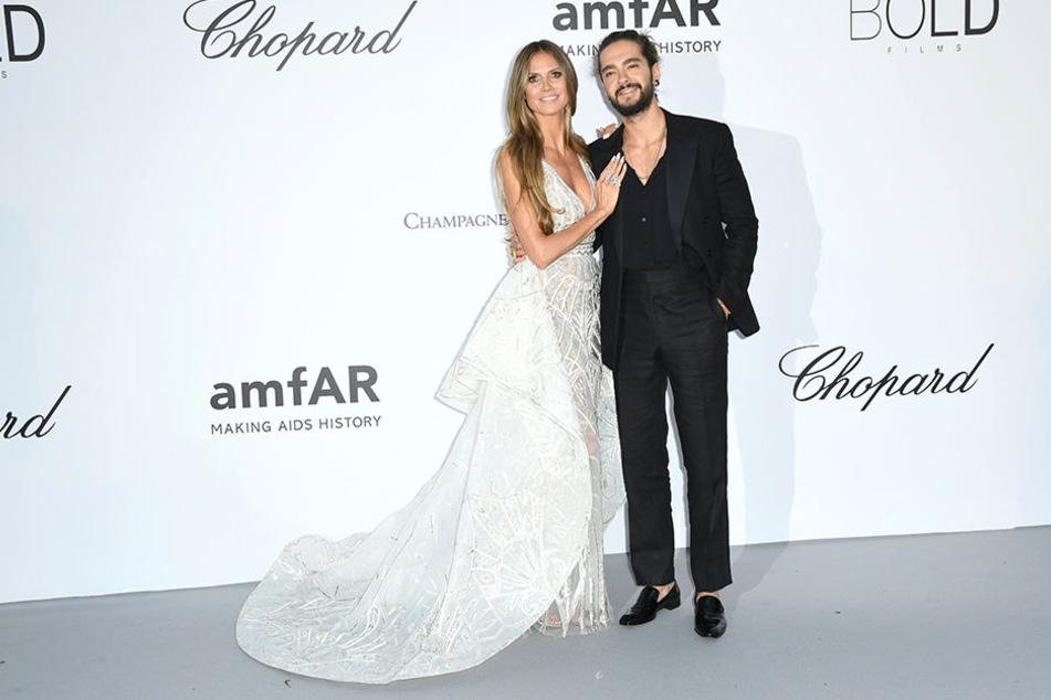 Wie Braut und Bräutigam zeigten sich Heidi Klum und Tom Kaulitz schon bei ihrem Debüt auf dem roten Teppich.