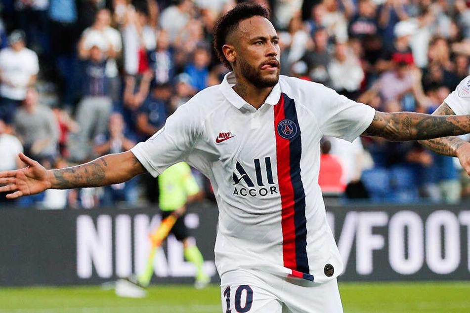 Neymar sichert PSG per Fallrückzieher Last-Minute-Sieg: Fans mit Pfiffen und Anfeindungen!