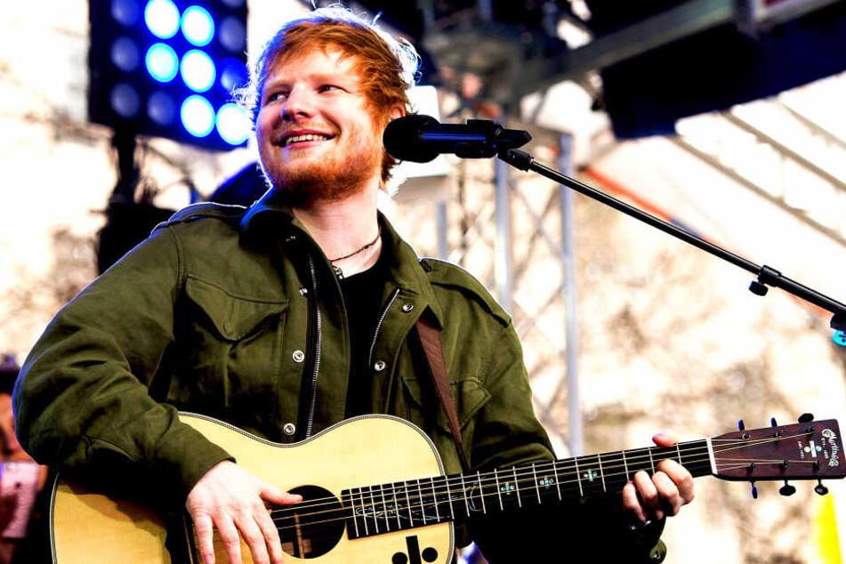 Ed Sheeran (26) ist gerade auf Erfolgskurs!
