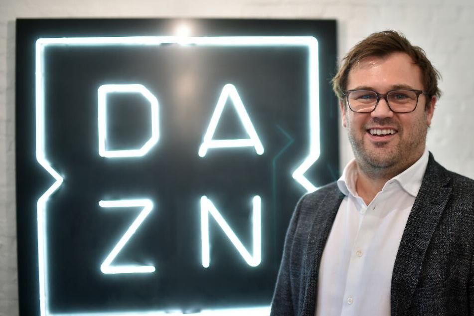 DAZN-CEO James Rushton hatte den Schritt bereits angekündigt.