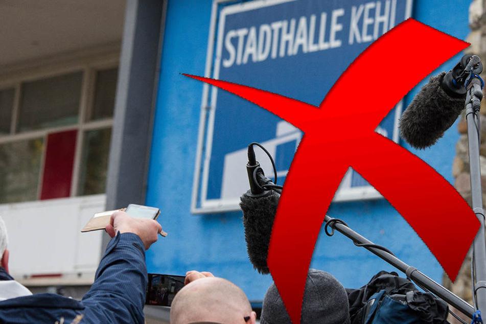 Die AfD hat erstmals Medienvertreter von einem Parteitag ausgeschlossen.