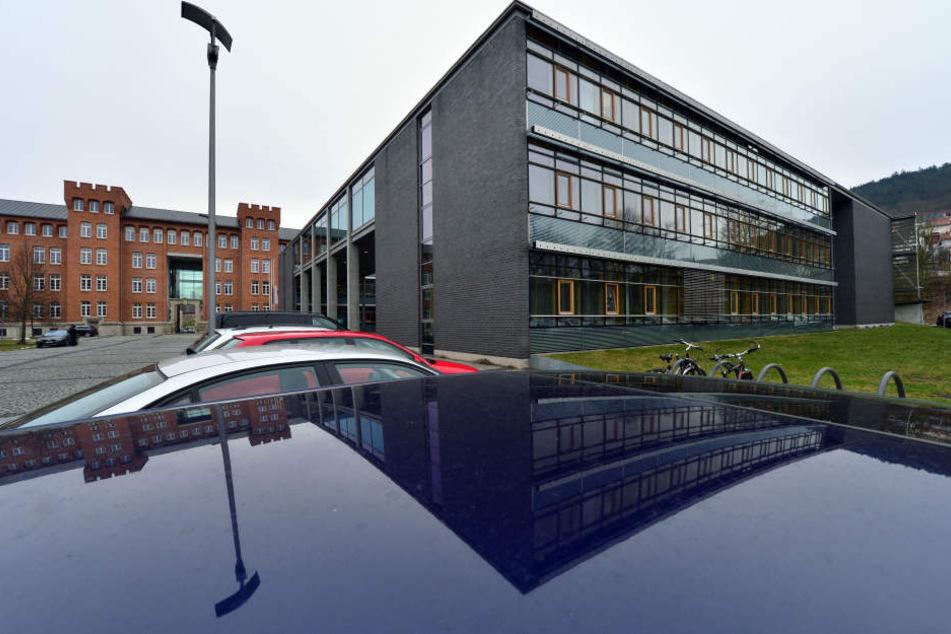Der Prozess wurde im Justizzentrum in Meinigen verhandelt.