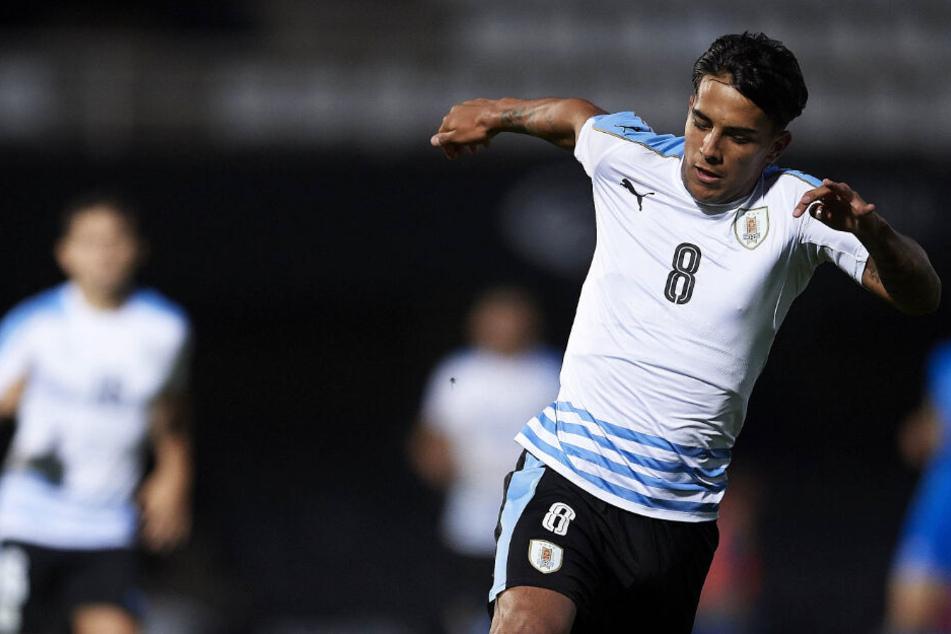 Rodrigo Zalazar hat in Frankfurt einen Vierjahresvertrag unterschrieben.