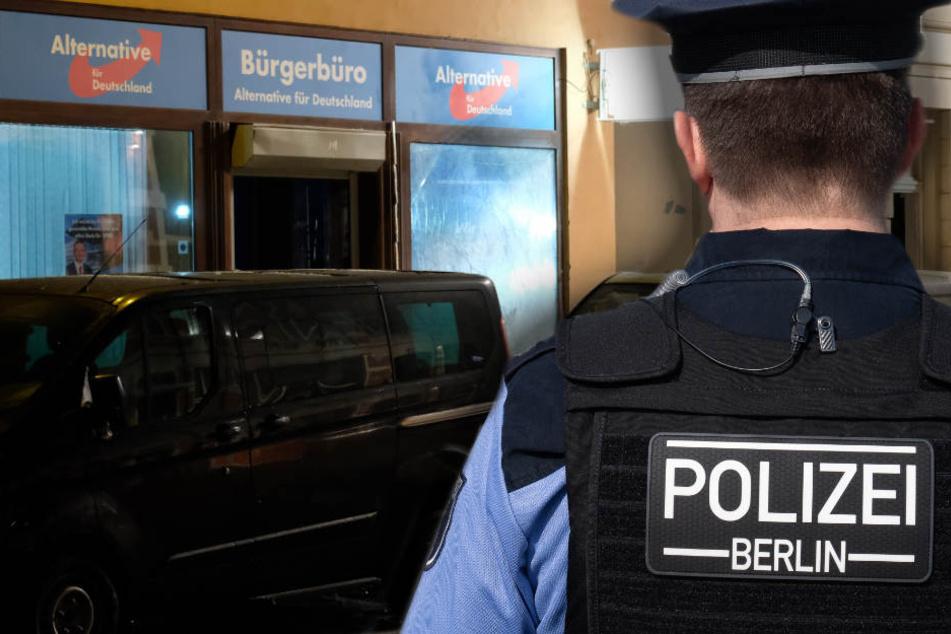 Nach Explosion in Döbeln: Wurde auch Berliner AfD-Parteibüro gezielt angegriffen?