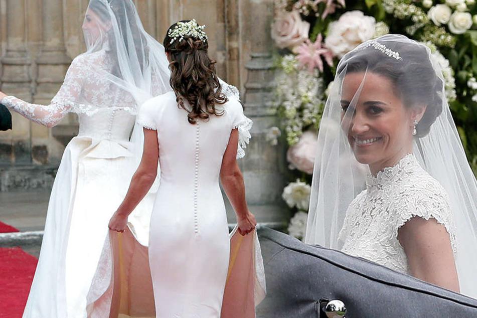 Als Trauzeugin wurde Pippa 2011 bei der Hochzeit ihrer Schwester Kate dank ihres heißen Hinterteiles weltberühmt.