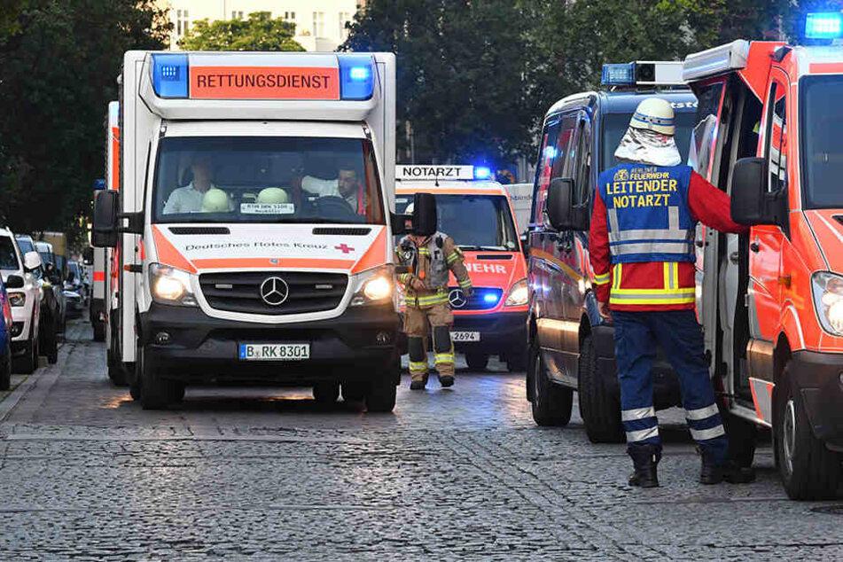 17 Menschen, darunter drei Kleinkinder mussten wegen Atemwegsbeschwerden in Krankenhäuser. (Symbolbild)