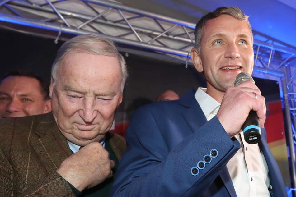 """AfD: Gauland bezeichnet Björn Höcke als """"Mitte der Partei"""""""