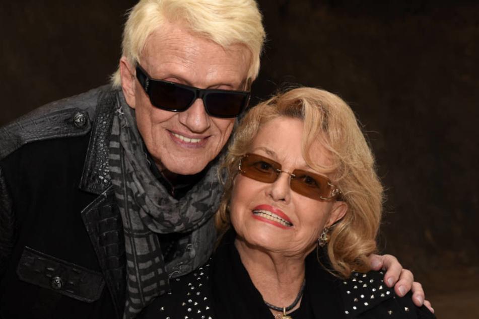 Heino und seine Frau Hannelore: Dem Sänger ist wiederholt eine unkritische Haltung zu völkischem Liedgut vorgeworfen worden.