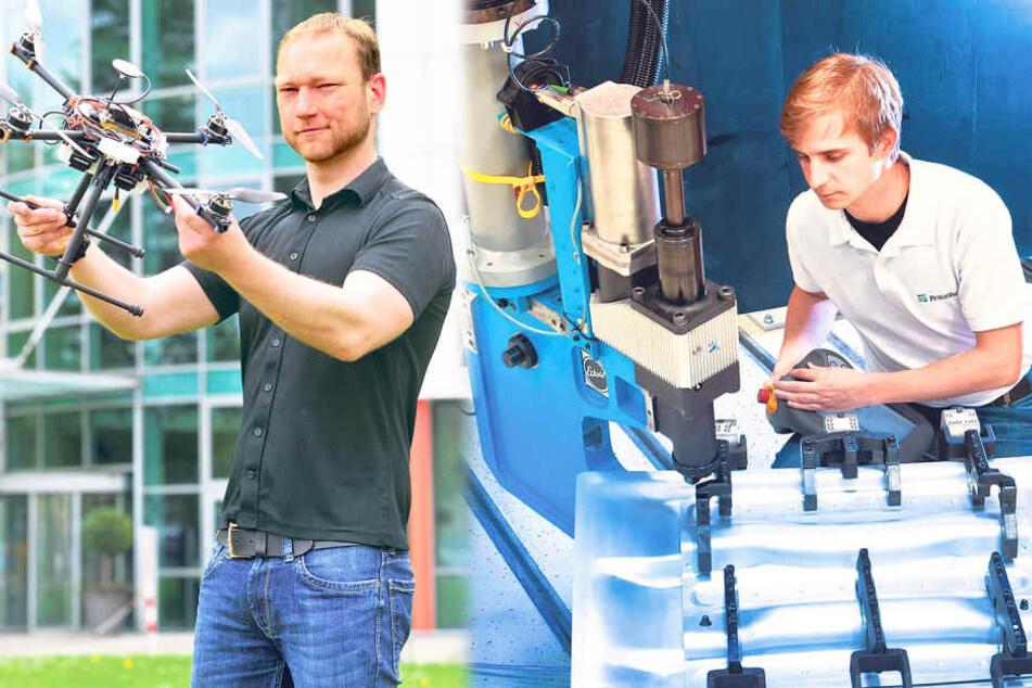 Das machen Chemnitz' Forscher mit 100 Millionen Euro!