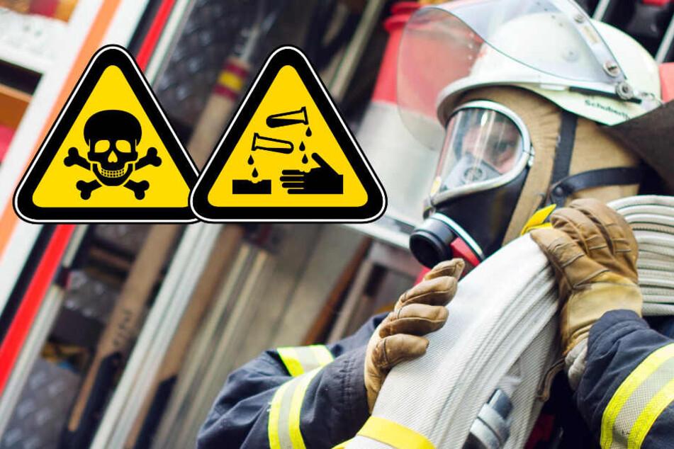 1000 Liter Salpetersäure! Großeinsatz der Feuerwehr