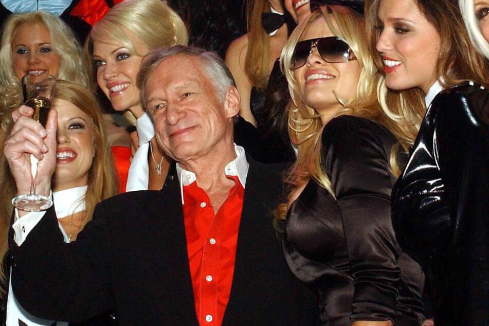 Hugh Hefner und Pamela Anderson verband eine tiefe Freundschaft