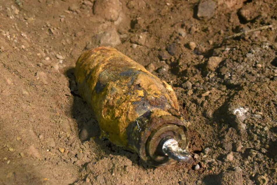Der Sprengkörper wiegt rund 250 Kilogramm. (Symbolbild)