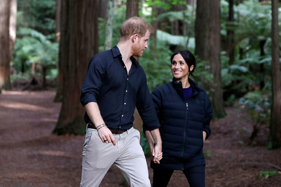 Ihr Kind wollen Meghan und Harry fernab der Stadt großziehen.