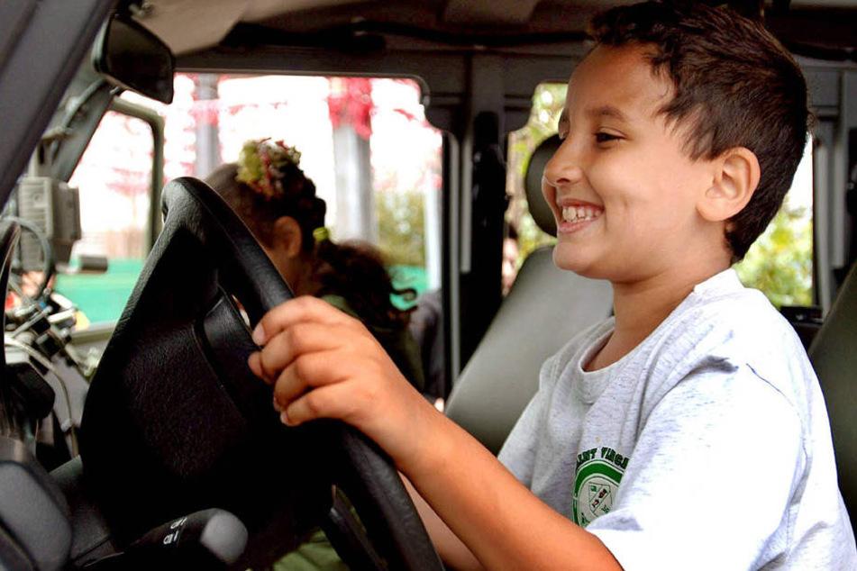 Ein Junge (12) aus Limbach-Oberfrohna ist mit dem Auto seiner Eltern zu seinen Großeltern nach Bamberg gefahren (Symbolbild).