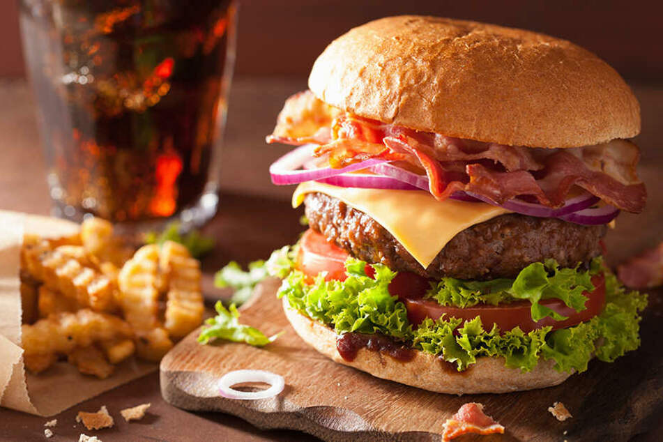 Eine Ursache für Fettsucht: Zu viel Fastfood.