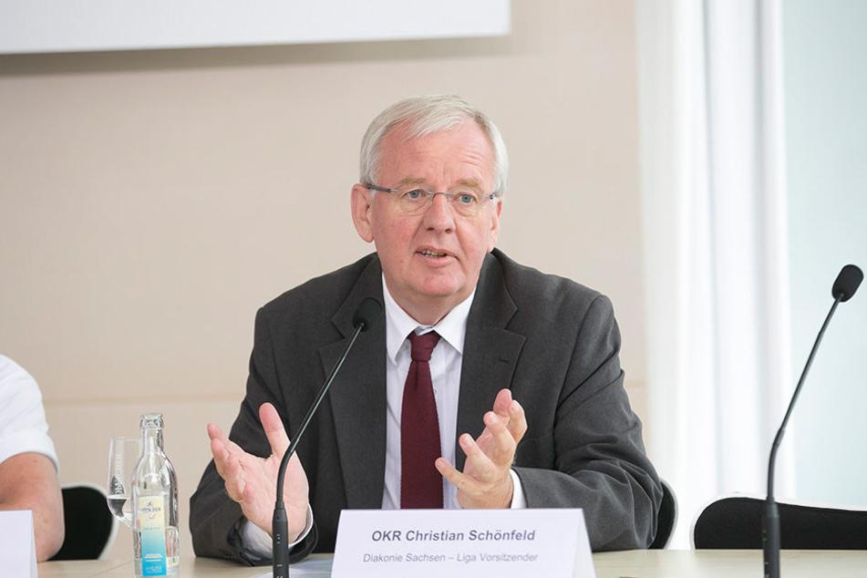 Sachsens Diakonie-Chef Christian Schönfeld (59).