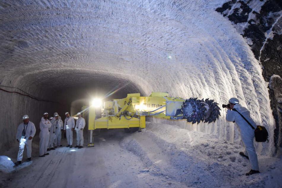Der wirtschaftliche Abbau im Bergwerk wird nach Aussagen des Konzerns immer schwieriger. (Symbolbild)