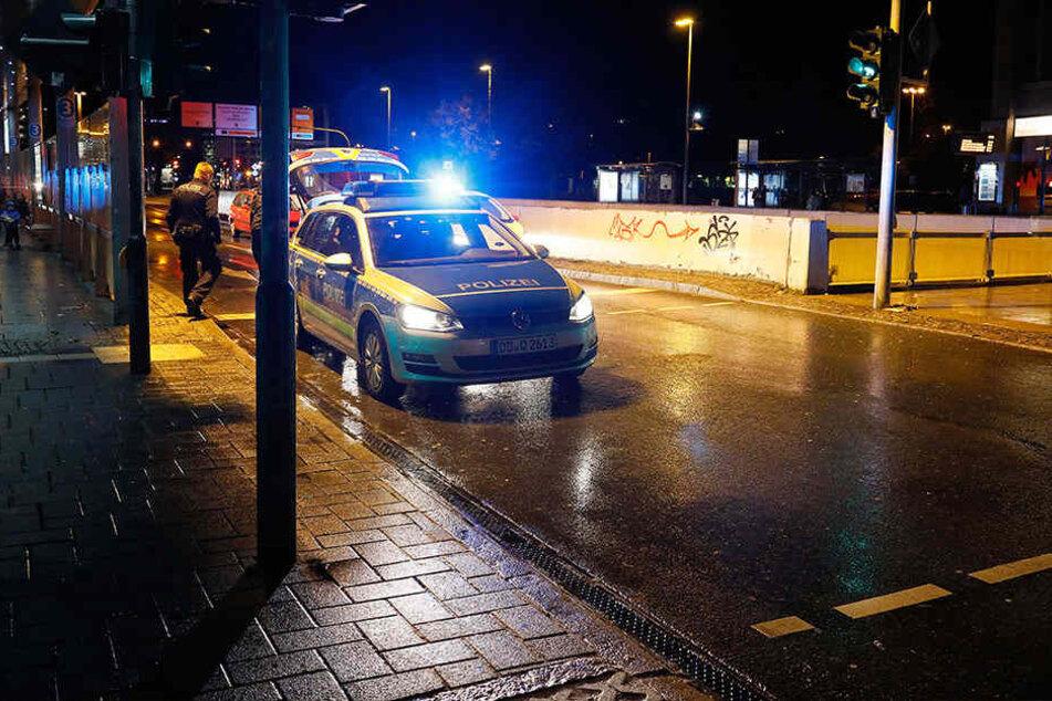 Der Unfall passierte in Höhe der Zentralhaltestelle in Chemnitz.