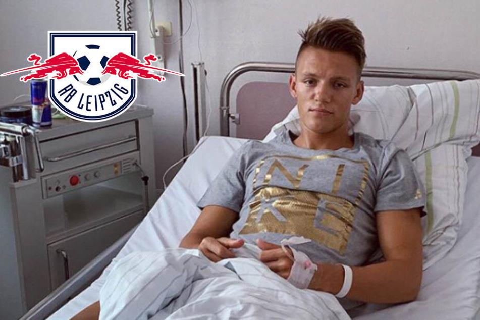 Wie lange fällt RB-Youngster Hannes Wolf noch aus?