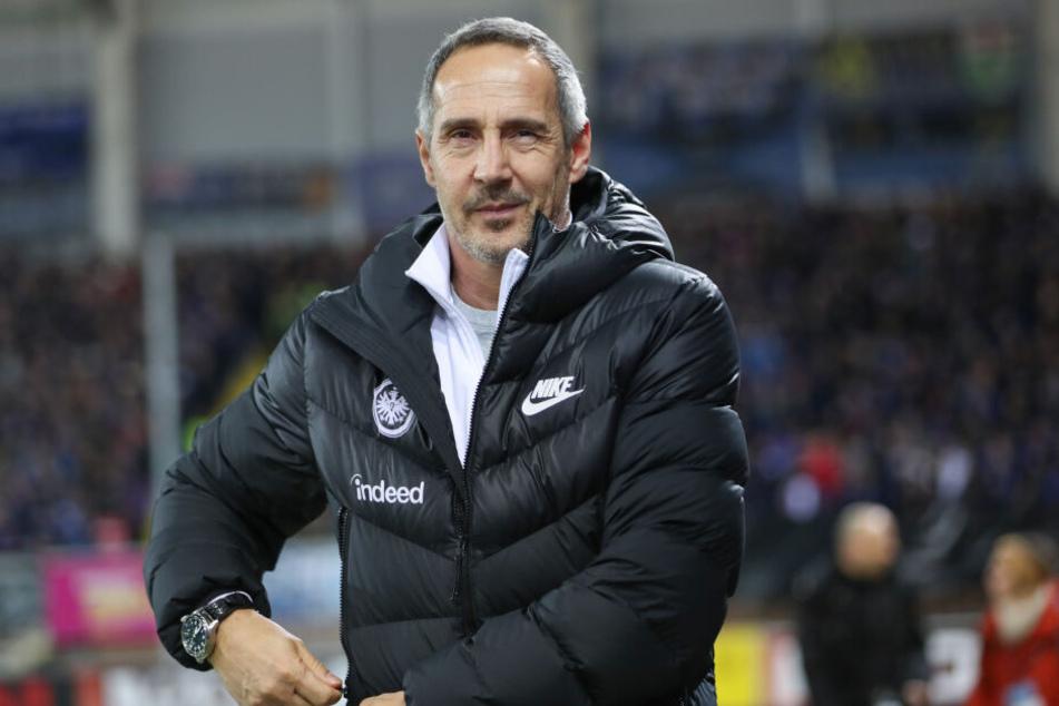 Laut TAG24-Reporter Angelo Cali sollte auch über Eintracht-Coach Adi Hütter diskutiert werden.