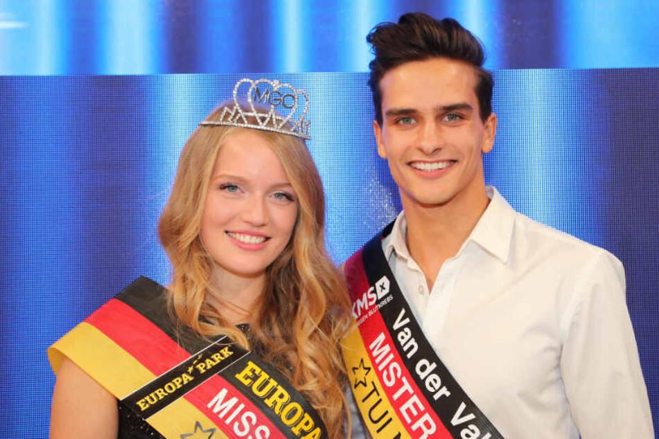 Sie sind Mitteldeutschlands Schönsten: Theresia Weidemann und Pascal Unbekaun.