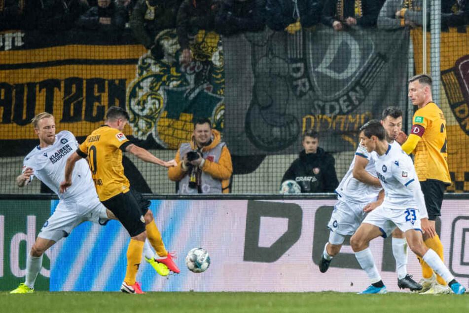 Marco Terrazzino schoss gegen den Karlsruher SC das goldene Tor. Als er gegen Bochum verletzt rausmusste, kam nicht etwa Godsway Donyoh für ihn.