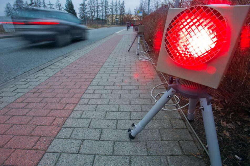Chemnitz: Fuß vom Gas! Hier stehen in der kommenden Woche die Blitzer in und um Chemnitz