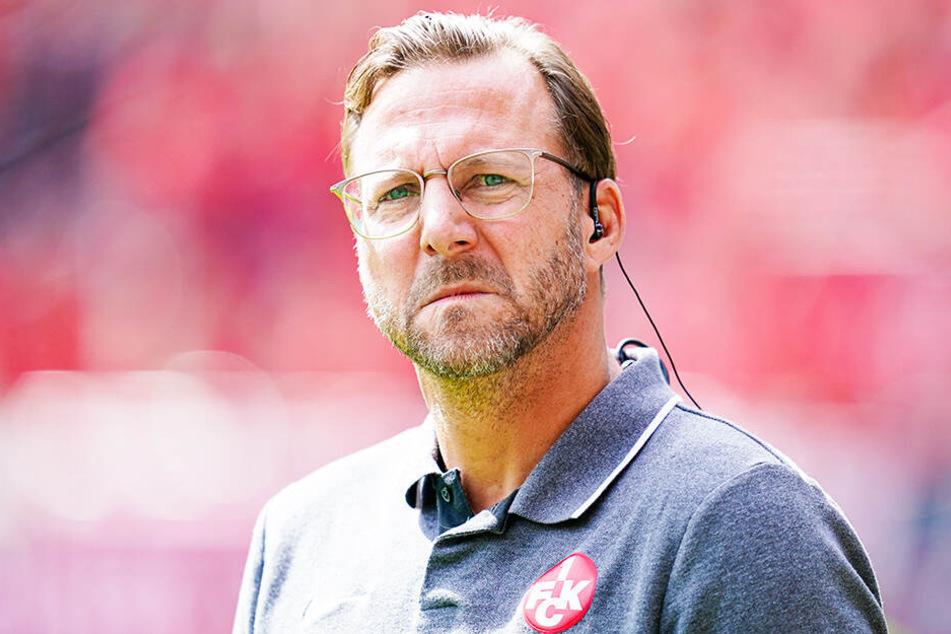 Sascha Hildmann steht beim 1. FC Kaiserslautern vor der Entlassung.