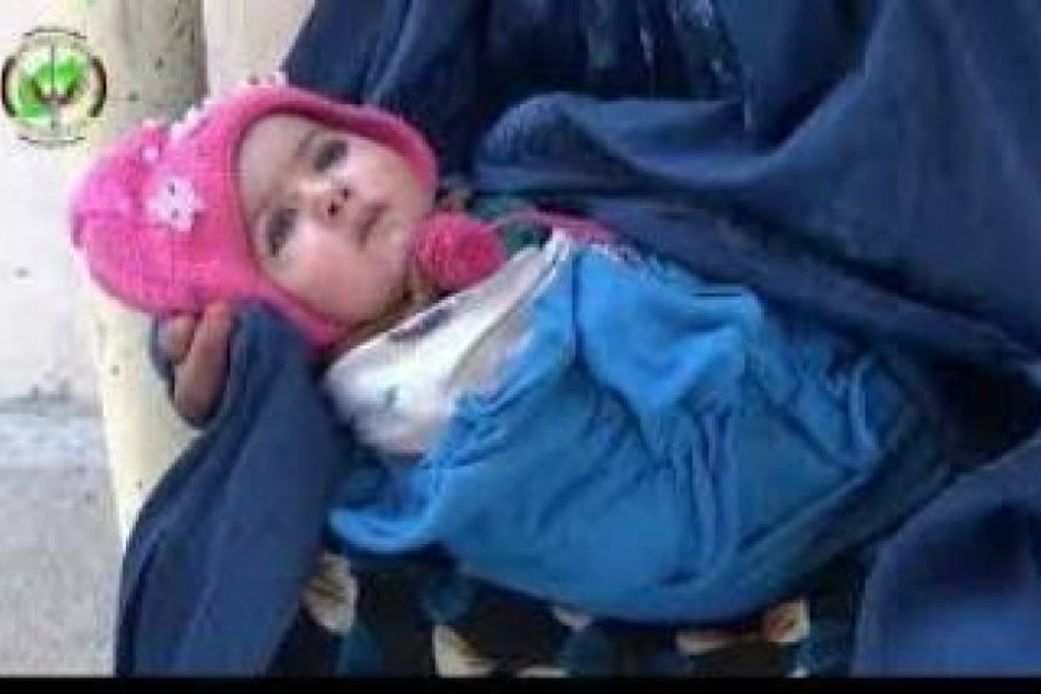 Das vier Monate alte Kind sollte bei einem Anschlag sterben.