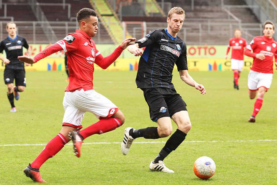 Thomas Bertels war gegen die zweite Mannschaft von Mainz bis zur 32. Minute dabei.