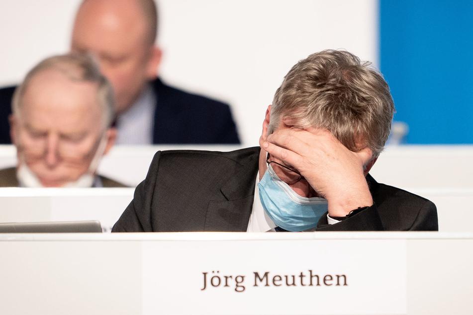 Jörg Meuthen (59, r.), AfD-Bundessprecher.