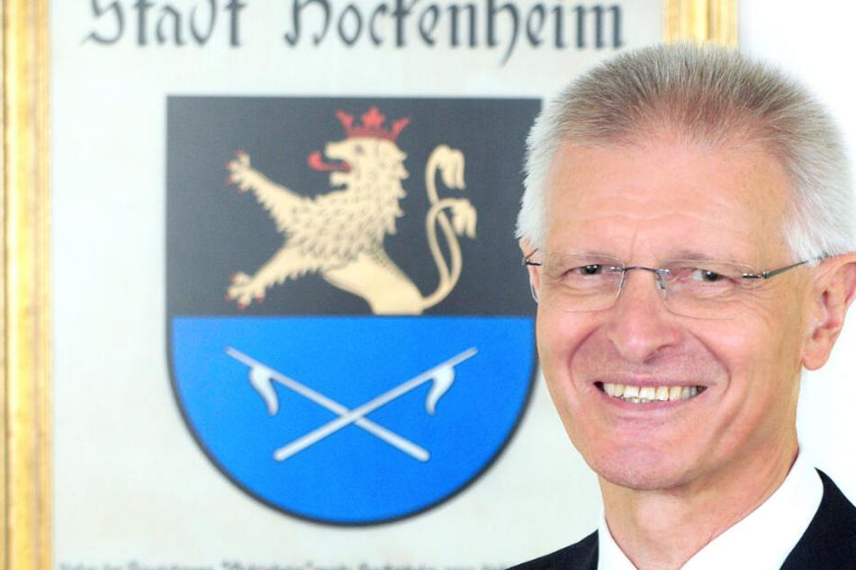 Nach brutaler Attacke: Hockenheims OB geht heute in den Ruhestand