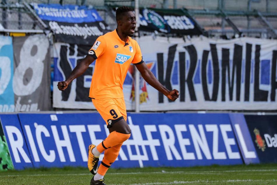 Prince Osei Owusu kommt von der TSG Hoffenheim nach Bielefeld.