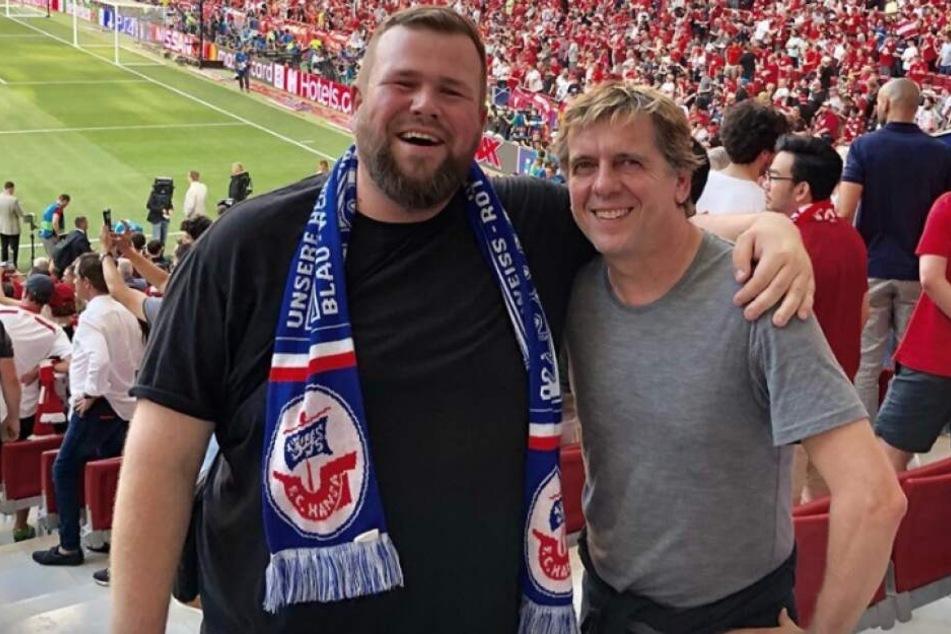 Promis scherzen in Madrid: CL-Finale diesmal ohne Fortuna Düsseldorf und Hansa Rostock!