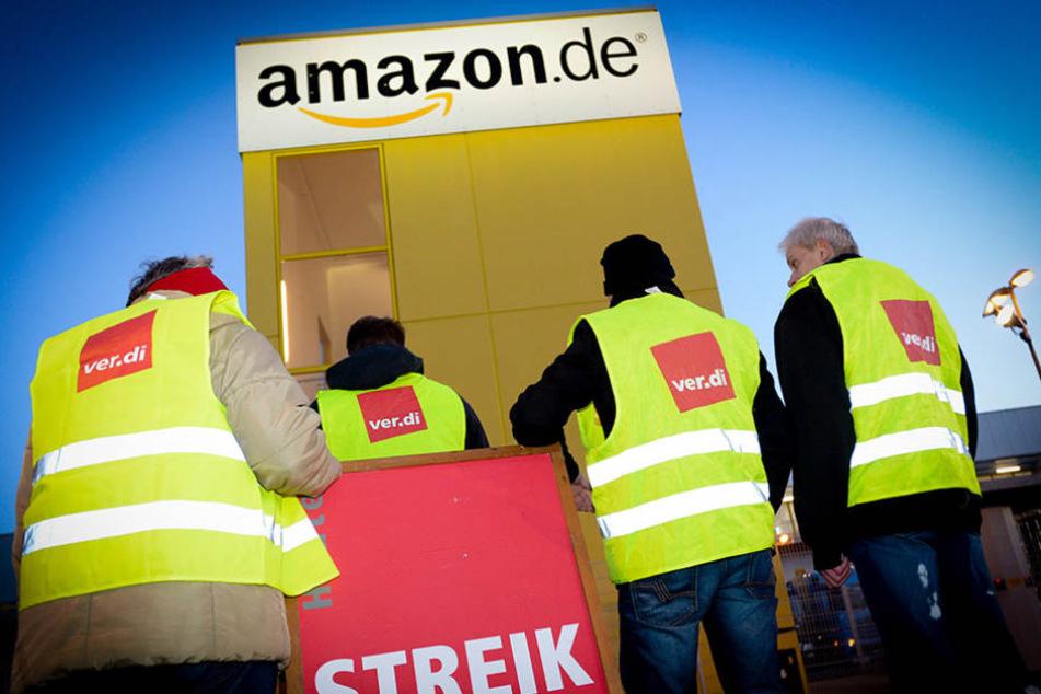 Wenn es nach ver.di geht, vereinen sich die europäischen Gewerkscgaften, um gegen Amazon eine Chance zu haben.
