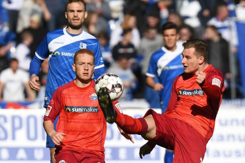 Gegen den 1. FC Magdeburg kam der SC Paderborn nicht über ein 1:1-Unentschieden hinaus.