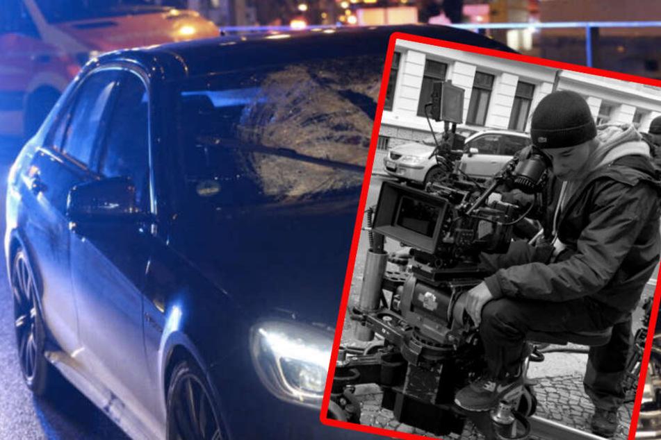 Raser-Unfall in der Jahnallee : Soko Leipzig erinnert an getötetes Crew-Mitglied
