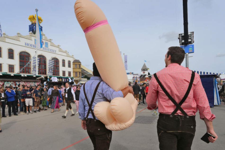 Auf dem Oktoberfest in München gibt es auch in diesem Jahr so einiges zu sehen.