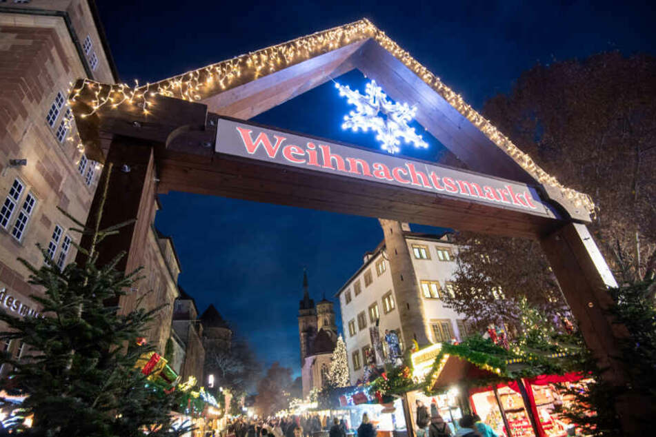 Weihnachtsmarkt in Stuttgart.