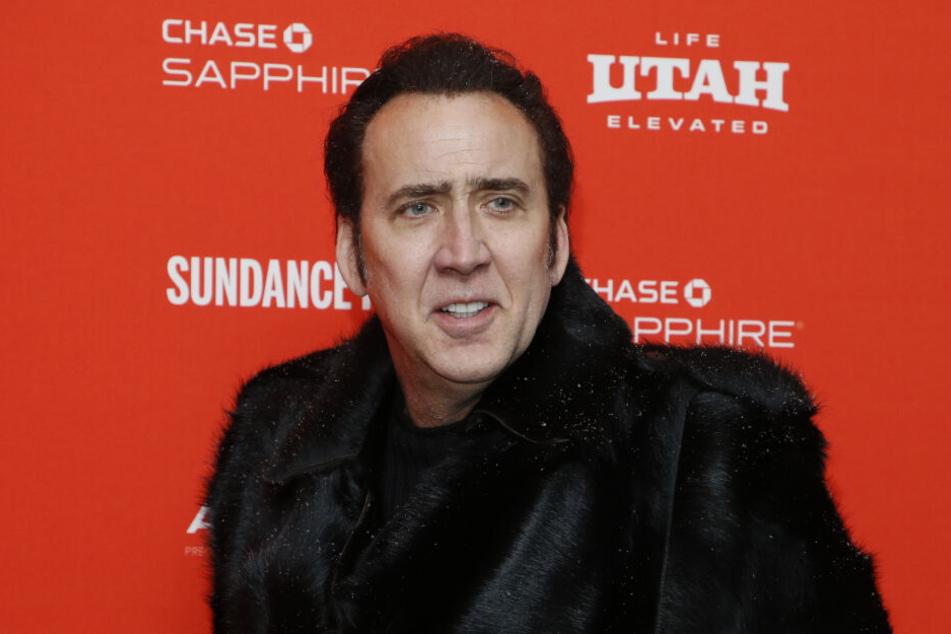 Nicolas Cage heiratete im Suff. Das bereut er nun.