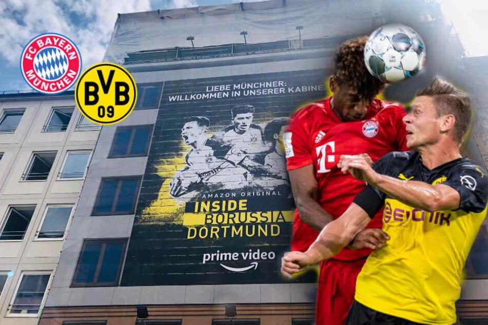 Borussia Dortmund ärgert Bayern-Fans nach Supercup-Pleite mit riesigem Plakat