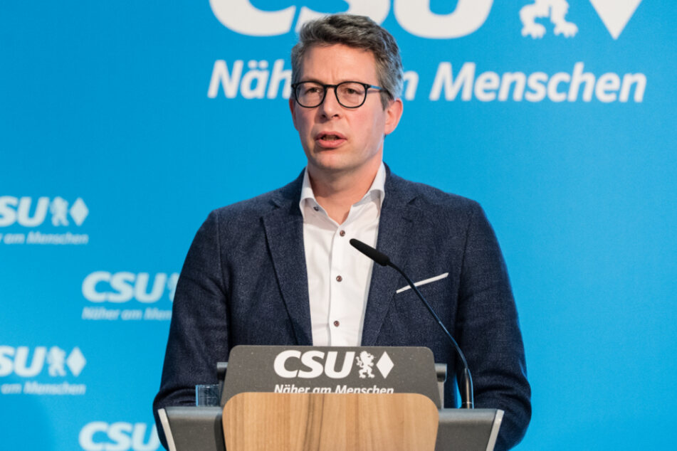 CSU-Generalsekretär Markus Blume (45).
