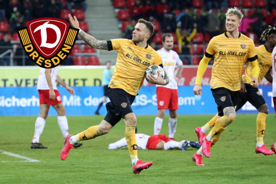 """Dynamo-Matchwinner Schmidt: """"Wichtig! Es war aber nur ein kleiner Schritt"""""""