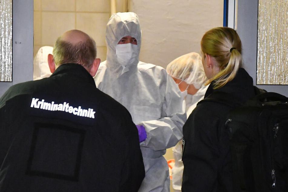 Die Mordkommission hat die Ermittlungen übernommen.