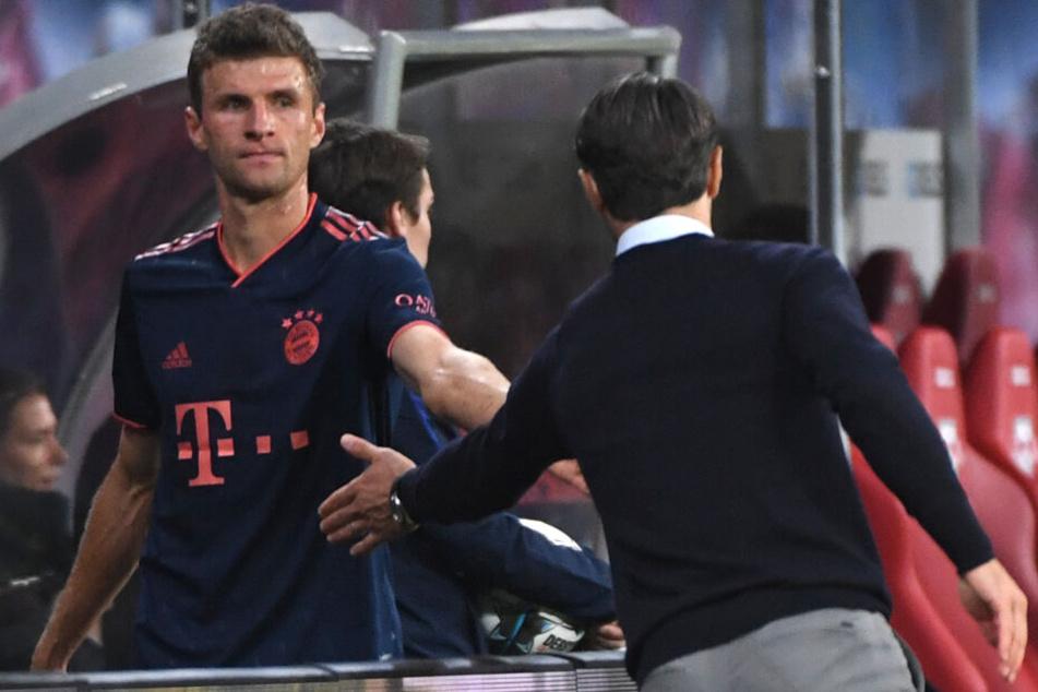 Thomas Müller hat unter Bayern-Trainer Niko Kovac keinen leichten Stand.