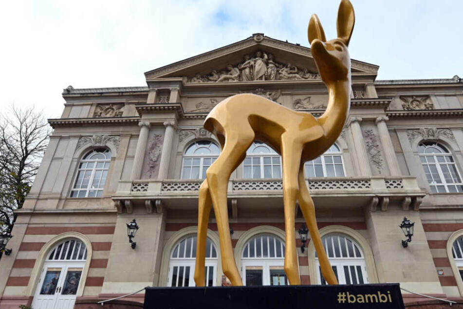 Die berühmte goldene Trophäe wir din Baden-Baden verliehen.