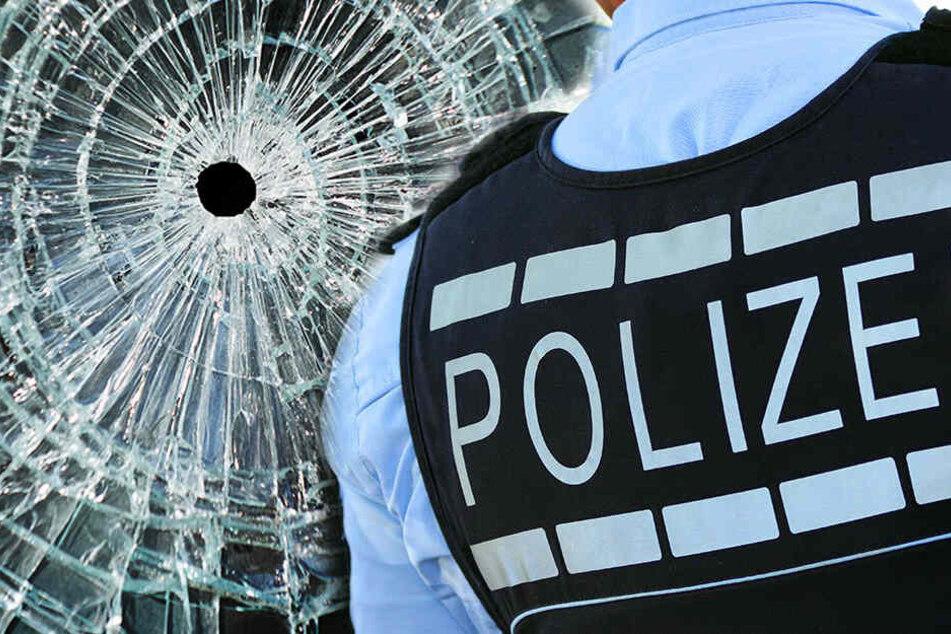 Scheibe zerstört: Firmengebäude in Zwickau beschossen