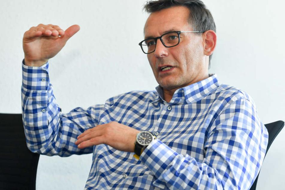 Seit fast einem Jahr leitet Born die kaufmännischen Geschicke bei Dynamo.