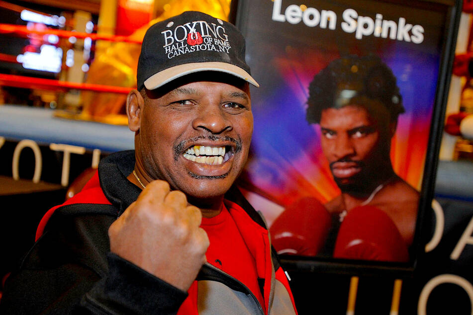 Former heavyweight boxing champion Leon Spinks has died
