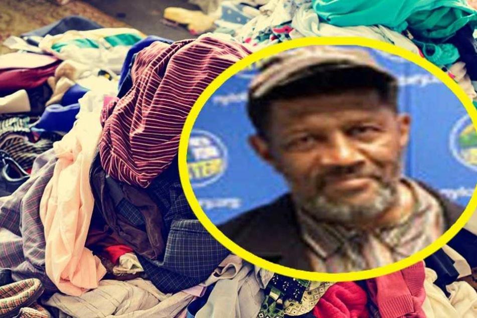 Mann findet 24 Mio. Dollar im Kleiderschrank